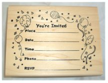 invitations stamps page